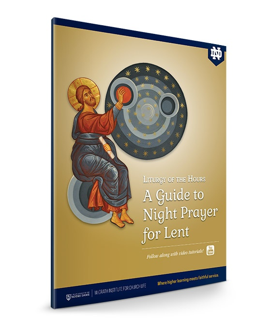image regarding Printable Liturgy of the Hours Guide referred to as The Liturgy of the Several hours: A Marketing consultant in the direction of Night time Prayer for Lent