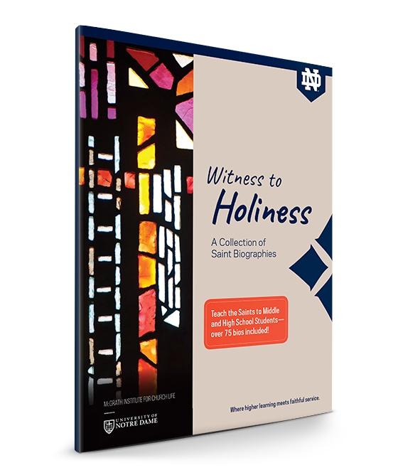 McGrath Institute Notre Dame - All Saints Day 2018 Workbook